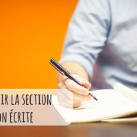 Comment réussir à la section expression écrite du TOEIC ?