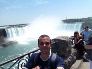 Anis, fan de MosaLingua web, en voyage au Canada