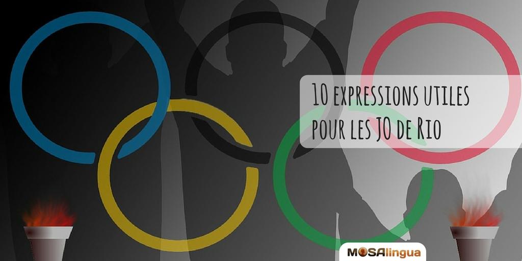 expressions utiles pour les JO de Rio