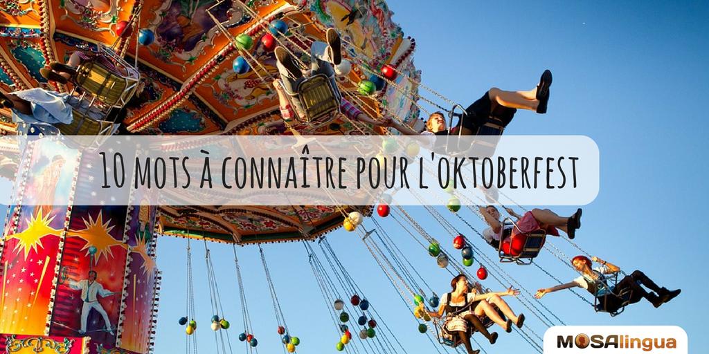 Leçon d'allemand : le vocabulaire à connaître pour l'oktoberfest
