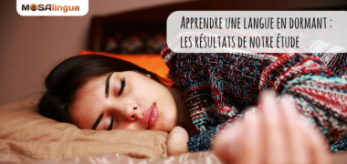 Apprendre une langue en dormant : les résultats de notre étude