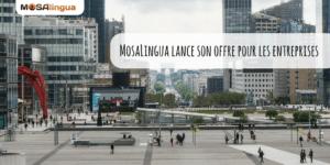 Cours d'anglais professionnel MosaLingua