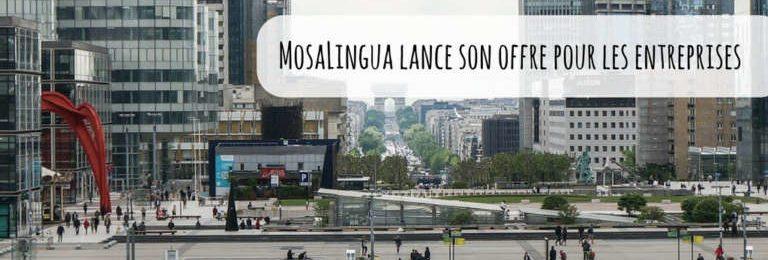 MosaLingua lance son offre pour les entreprises Image