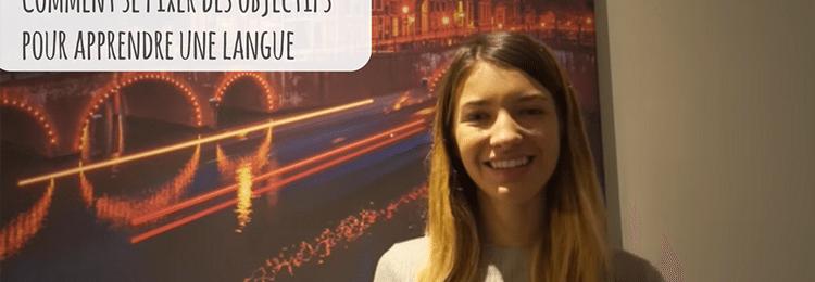 Comment se fixer des objectifs pour parler une langue couramment (VIDEO) Image