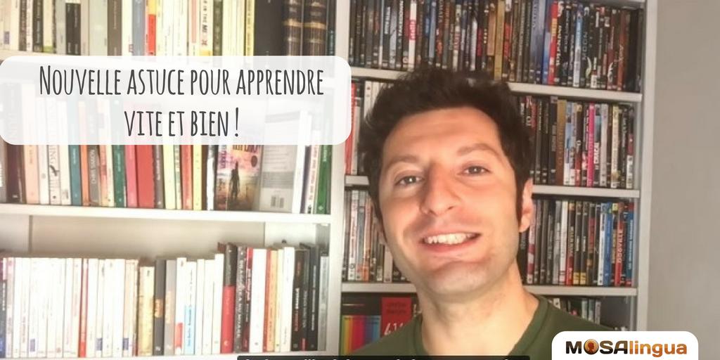 apprendre l'anglais rapidement avec les astuces MosaLingua