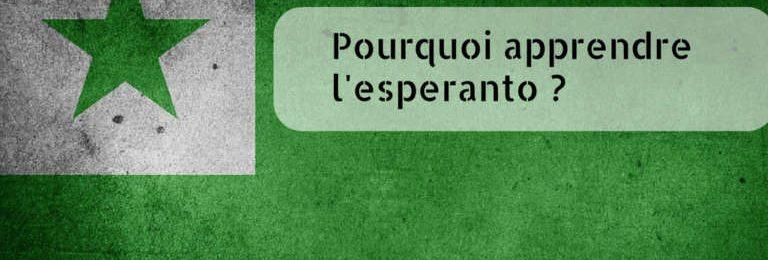 Pourquoi apprendre l'espéranto ? Image