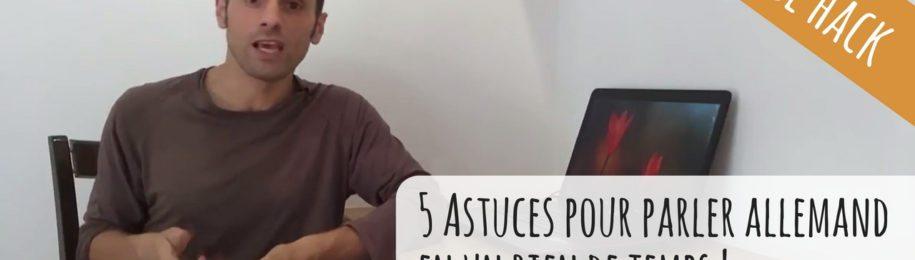 Vidéo : comment apprendre l'allemand ? 5 astuces pour booster votre apprentissage Image