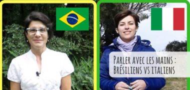 Parler avec les mains : brésiliens VS italiens, la vidéo !