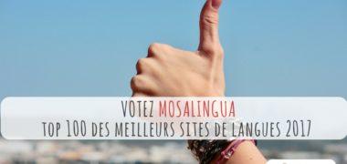 Votez pour nous au TOP 100 des meilleurs sites de langues