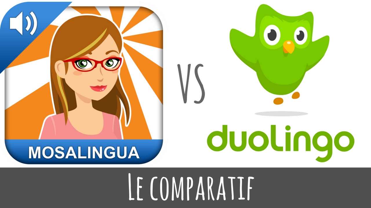 Comparatif Duolinguo MosaLingua : les appli pour apprendre les langues