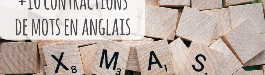 Les différences entre l'anglais oral et écrit : la contraction des mots Image