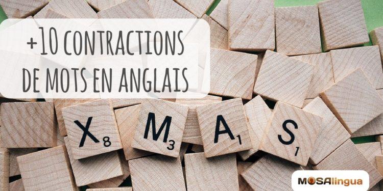 Contraction des mots en anglais