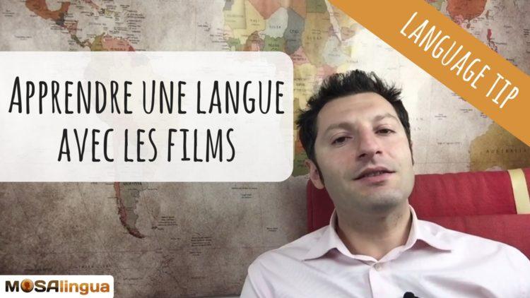 Apprendre une langue avec des films et des séries en V.O. : nos astuces