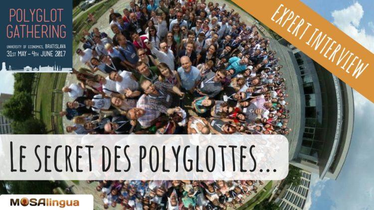 Interview d'experts au polyglot gathering 2017