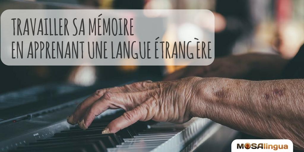 travailler sa mémoire en apprenant une langue