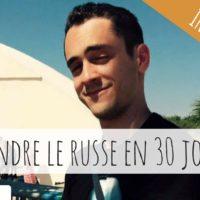 Apprendre le russe en 30 jours : Interview de Jérémy