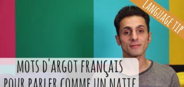 VIDEO : 10 mots d'argot français pour parler comme un natif