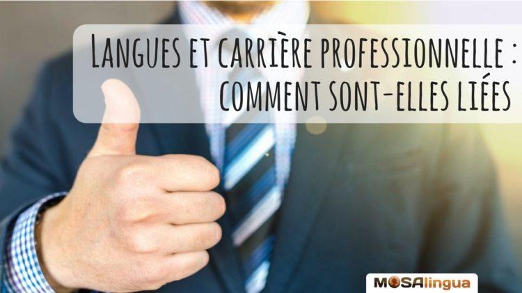Langues et carrière professionnelle