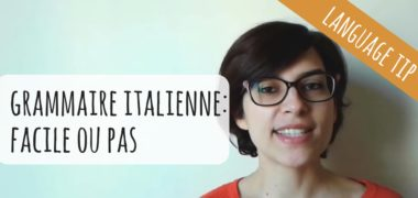 VIDEO : Grammaire italienne, facile ou pas ?