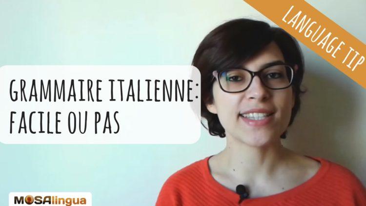 Astuces pour apprendre les règles de grammaire italienne - vidéo