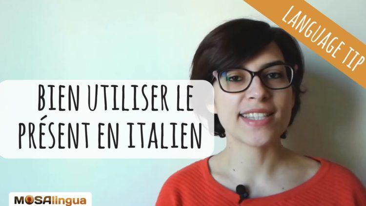 Conjugaison présent italien